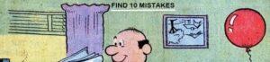 trova gli errori