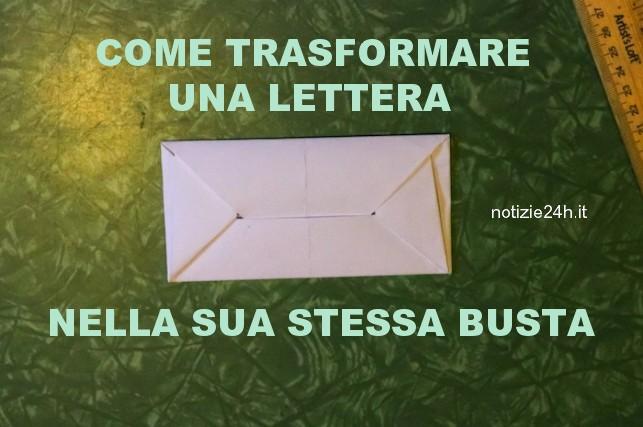 da lettera a busta