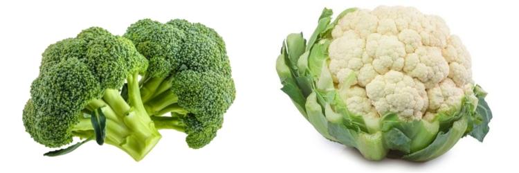 Differenza tra broccolo e cavolfiore
