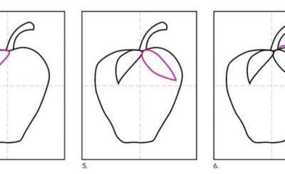 come disegnare una fragola per bambini