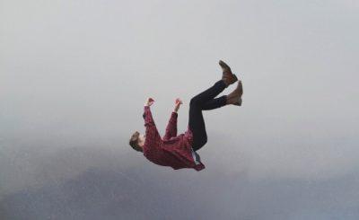 sognare di cadere