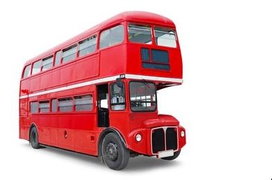 come disegnare un autobus a due piani