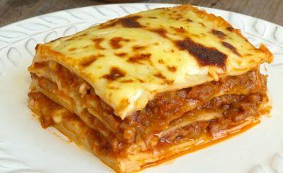 lasagna salsiccia e mozzarella