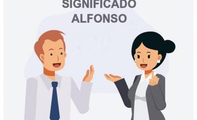 significado Alfonso