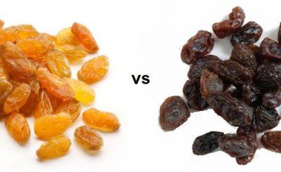 differenza uva passa uva sultanina