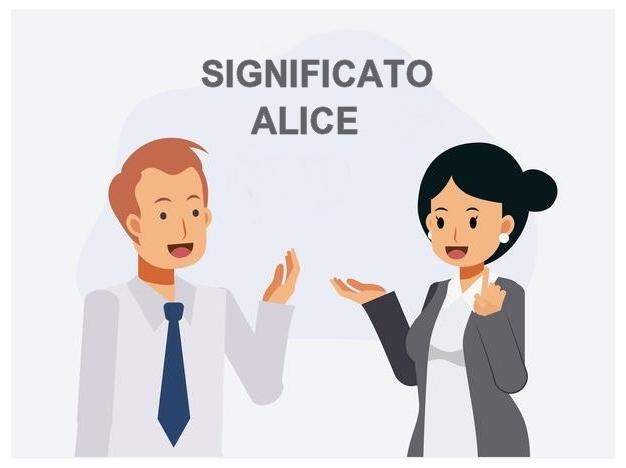significato Alice