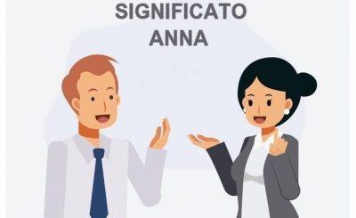 significato Anna