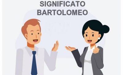 significato Bartolomeo