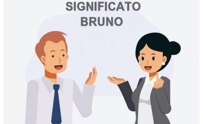 significato Bruno